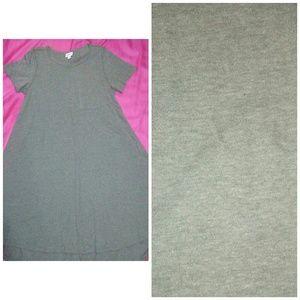 Carly dress S lularoe light olive green NWOT